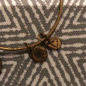 Alex and Ani Jewelry - Alex and Ani K initial bangle